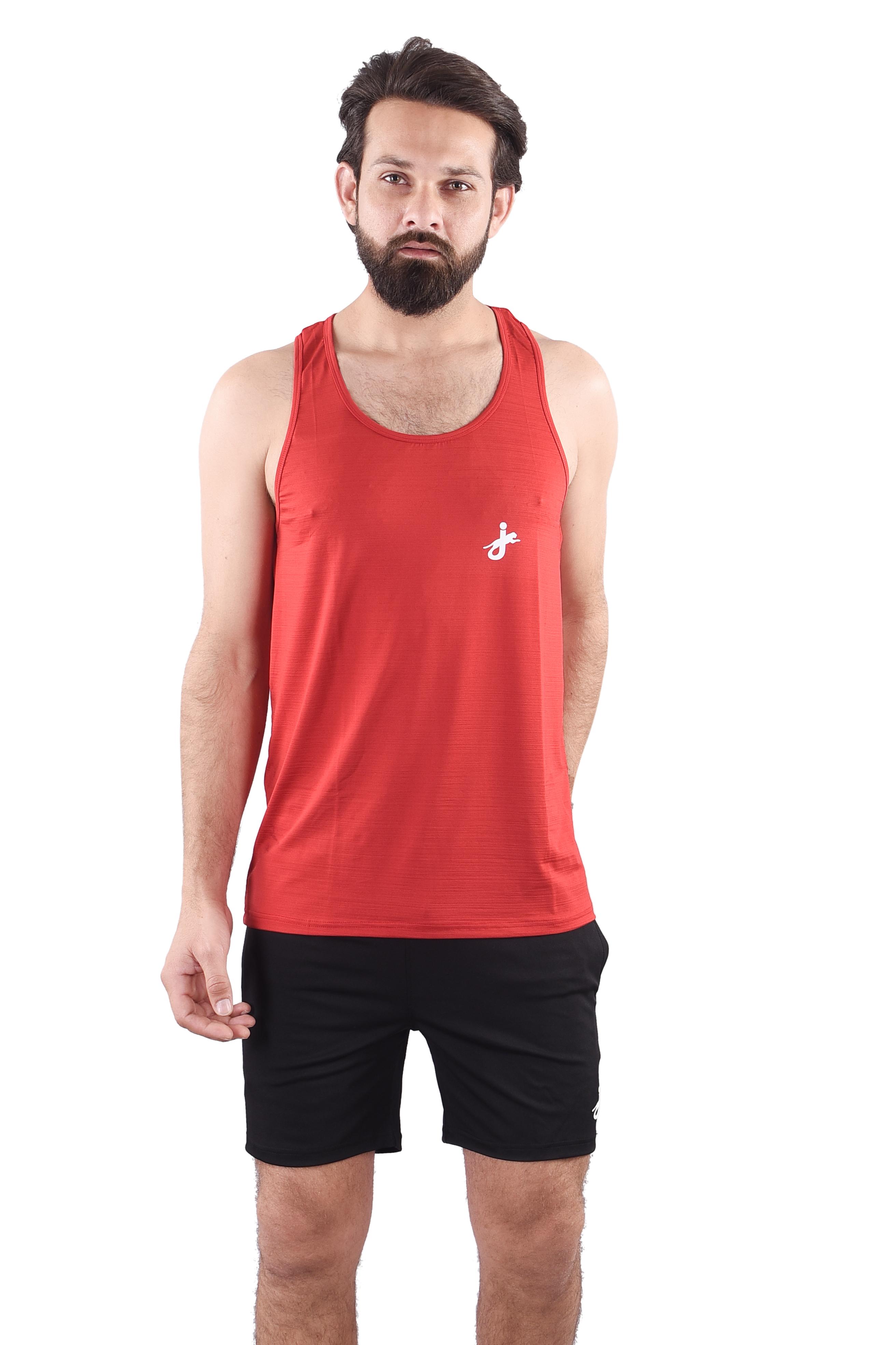JAGURO | JAGURO  Men's Polyester Sleeveless  Tank T-Shirt.