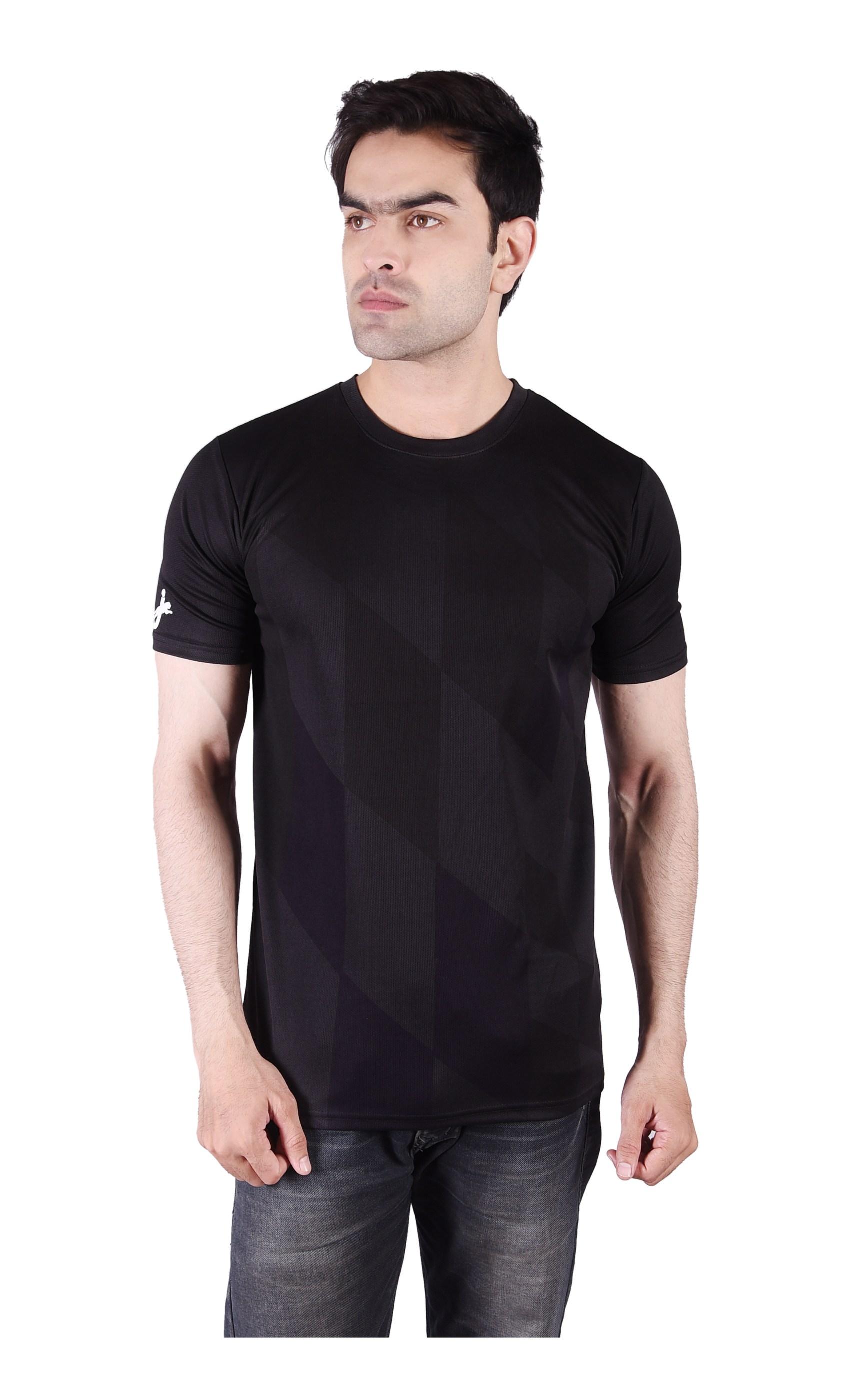 JAGURO | JAGURO men's printed polyester T-Shirt.