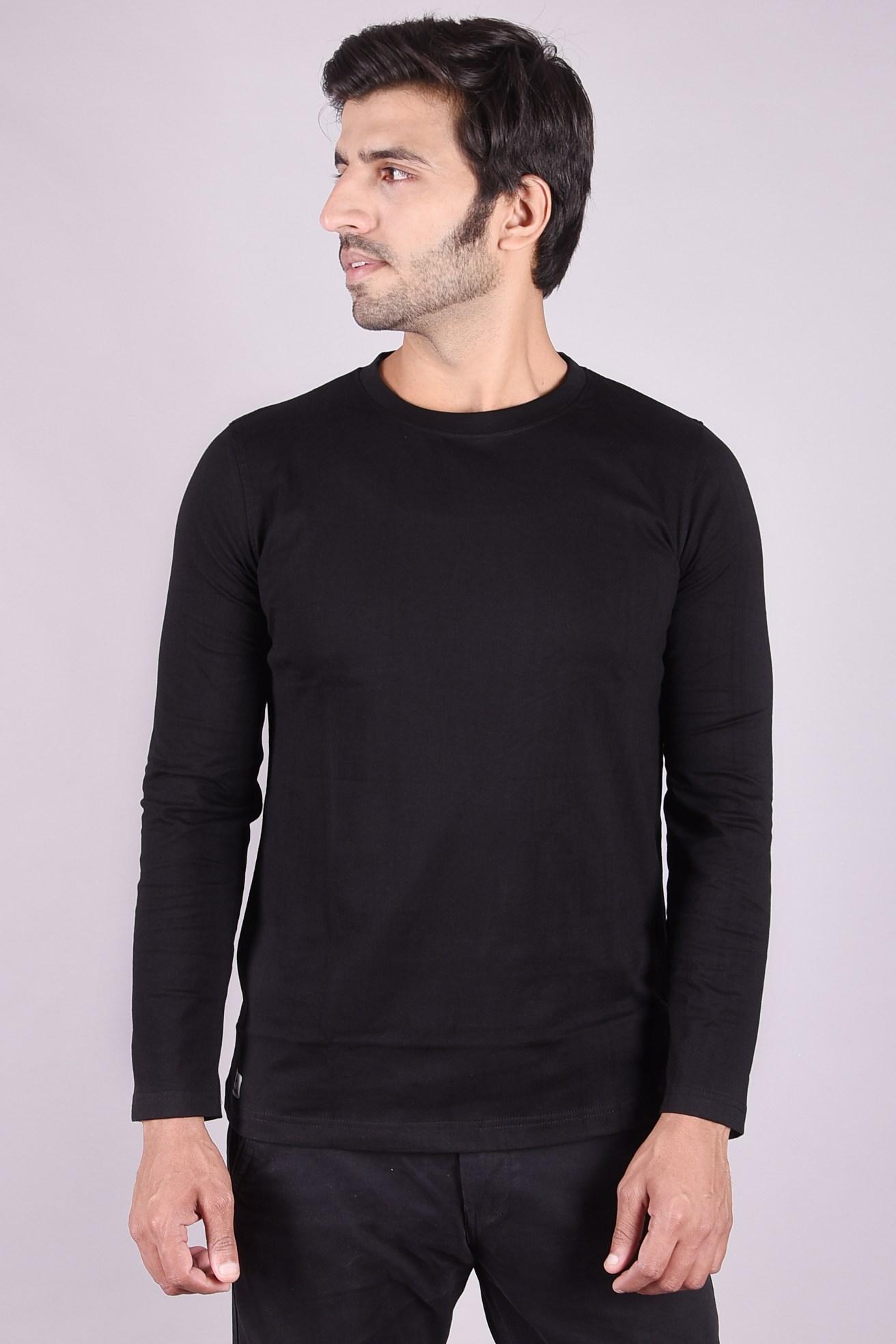 JAGURO   Stylish full Sleeves cotton T-shirt.