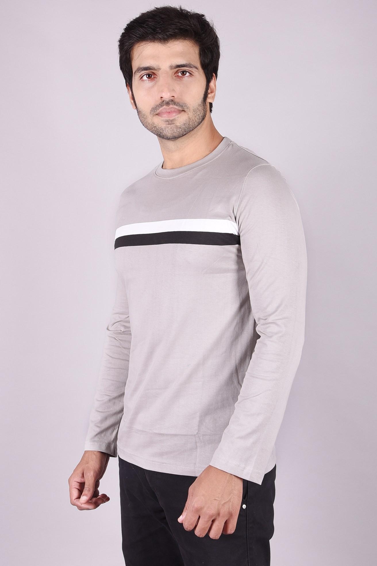 JAGURO | Stylish full Sleeves cotton Printed T-shirt.