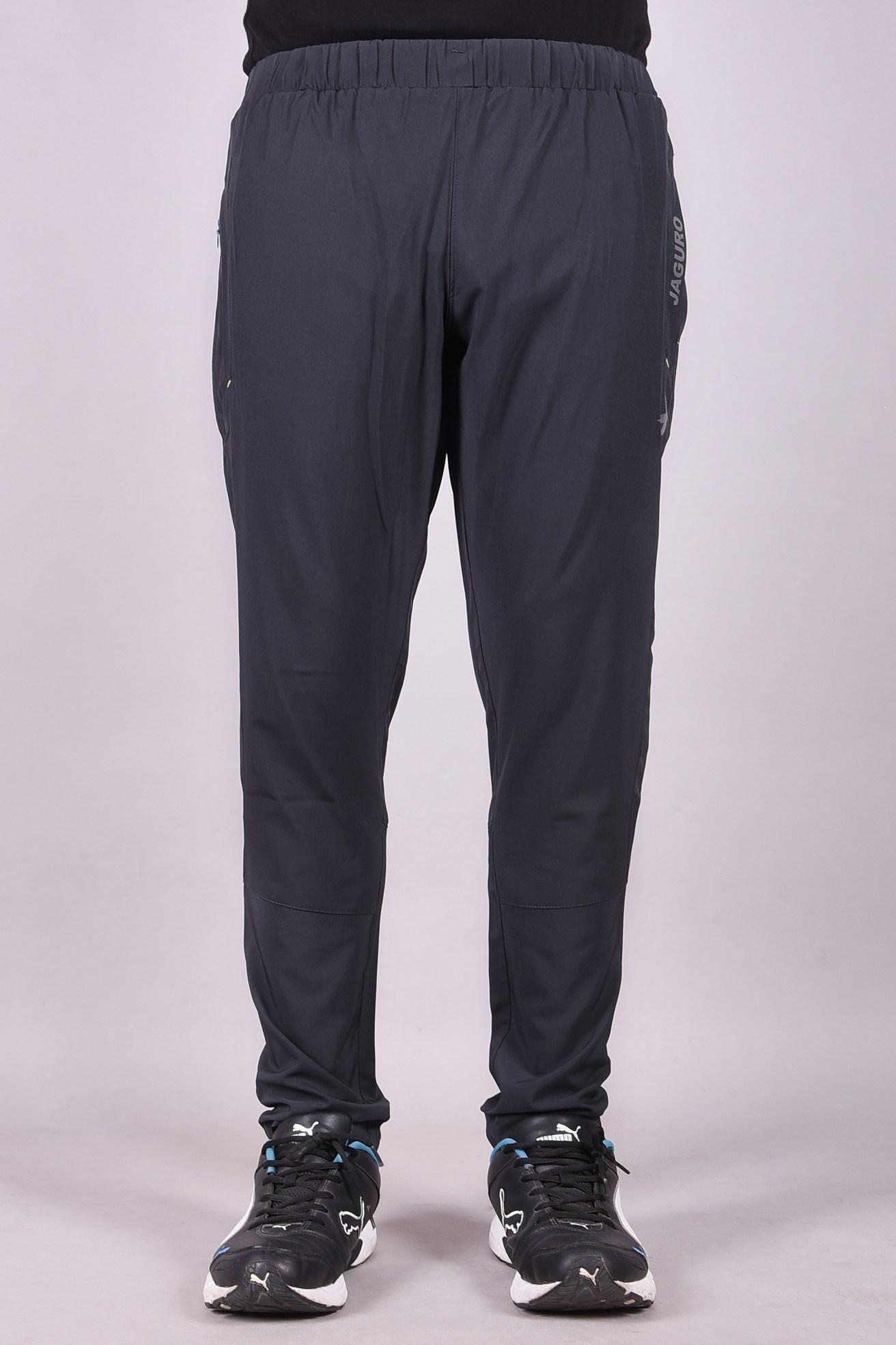 JAGURO | Men's Polyester Stylish Dual Pockets Trackpant.