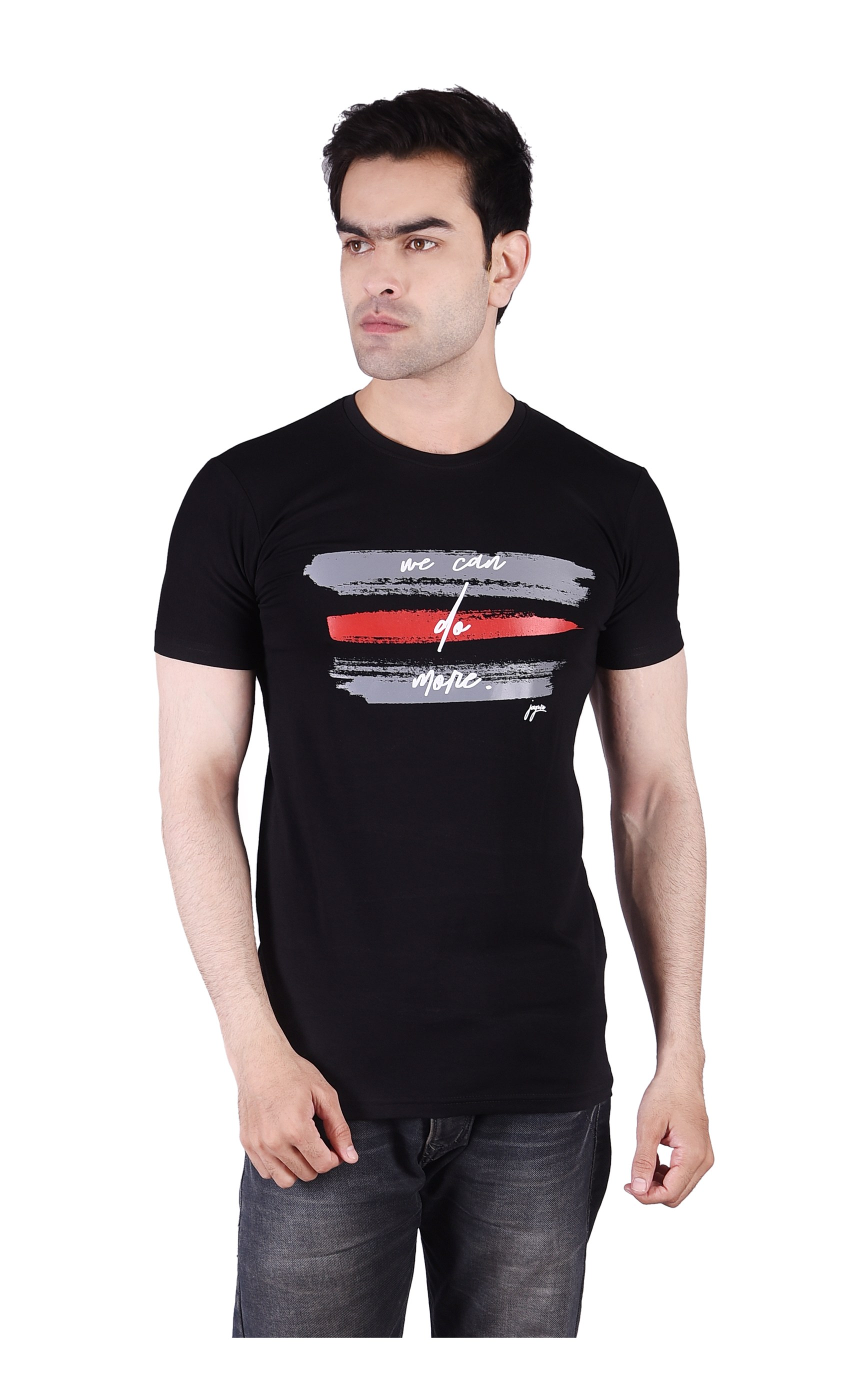 JAGURO | JAGURO men's printed cotton T-Shirt.