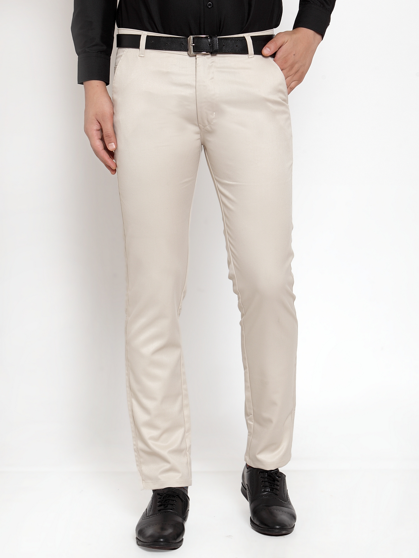Jainish   Jainish® Men's Solid Formal Trousers