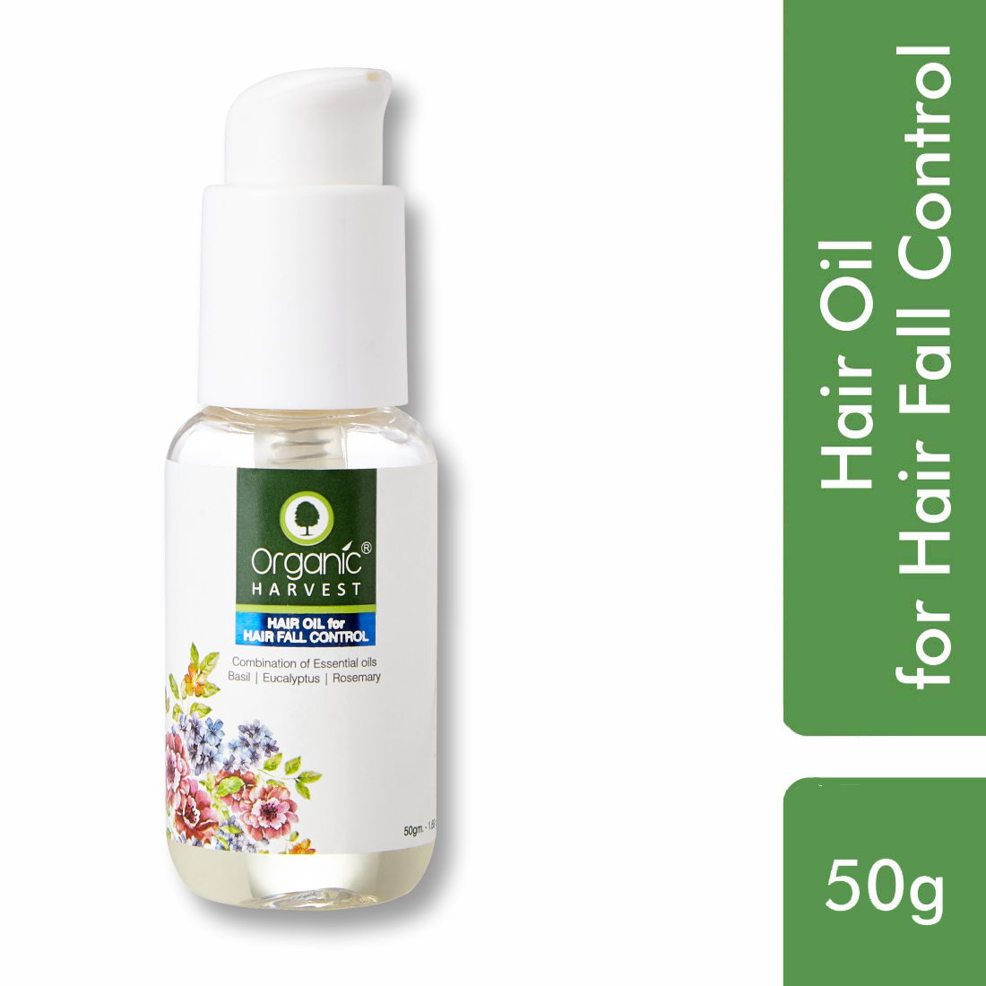 Organic Harvest | Hair Oil for Hair Fall Control - 50ml