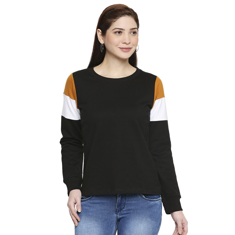 Jhankhi | Jhankhi Cotton Full Sleeves T-Shirt