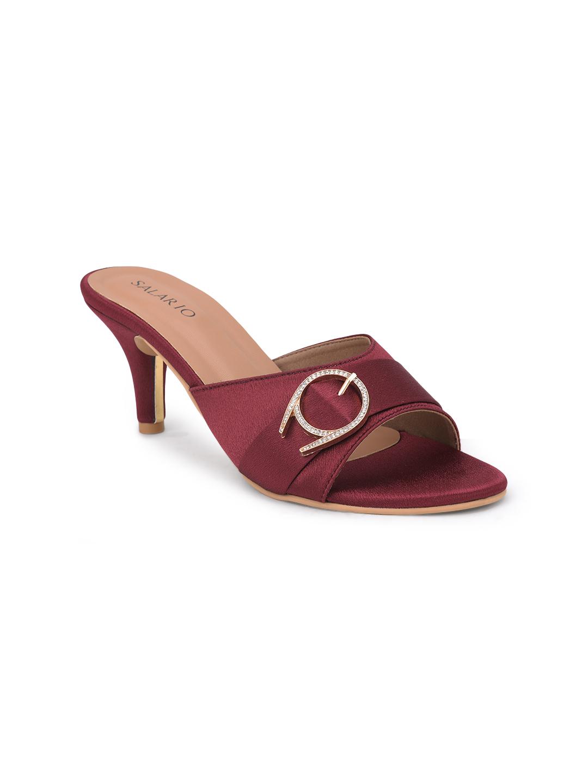 SALARIO   Salario Embellished Kitten Heeled Sandals