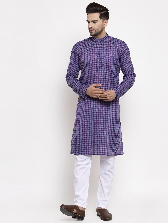 Jompers    Jompers® Men's Woven Kurta Payjama Sets