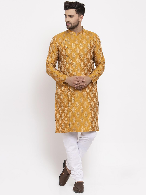 Jompers   Jompers® Men's Woven Side Button Kurta Pajama