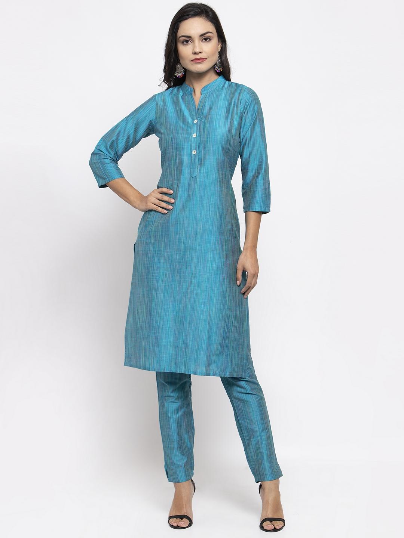 Jompers | Jompers® Women Blue Kurta with Pants