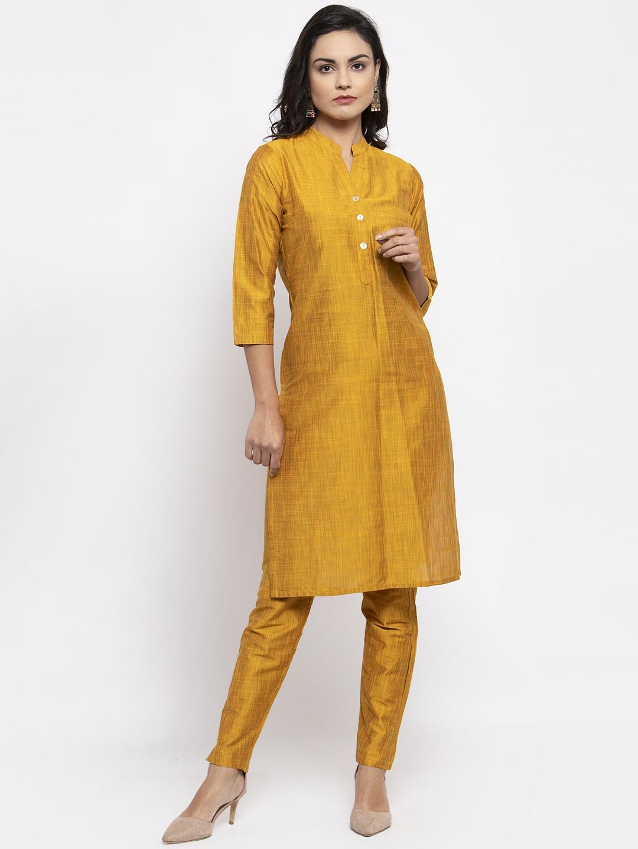 Jompers   Jompers® Women Yellow Kurta with Pants