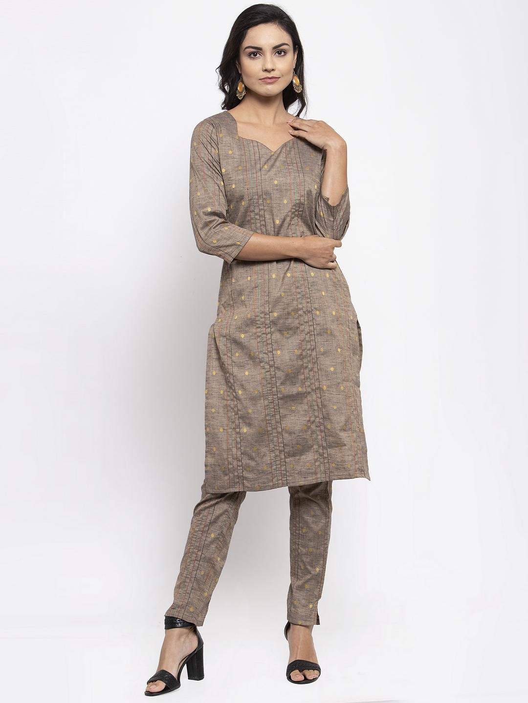 Jompers   Jompers® Women Grey Kurta with Pants