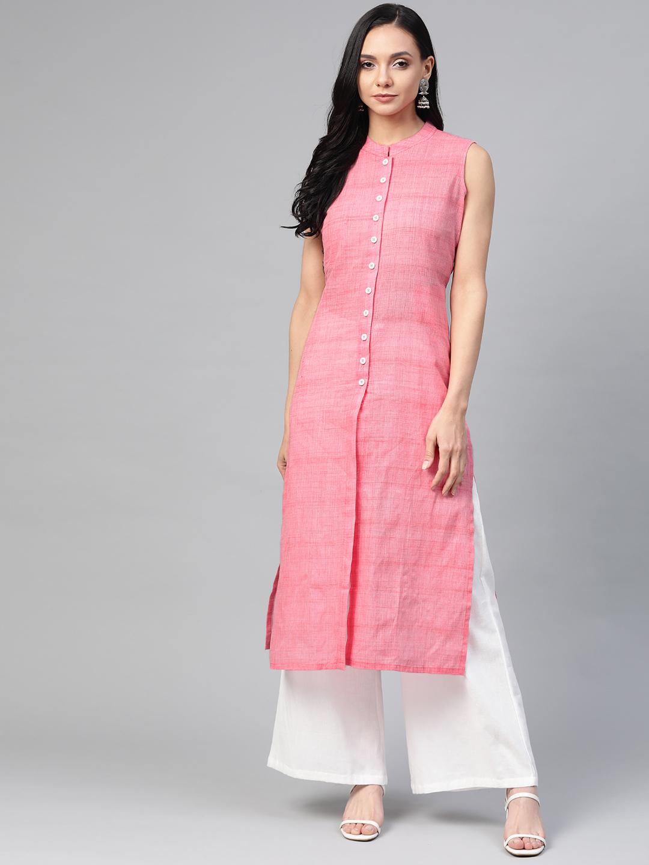 Jompers   Jompers woven design straight kurta