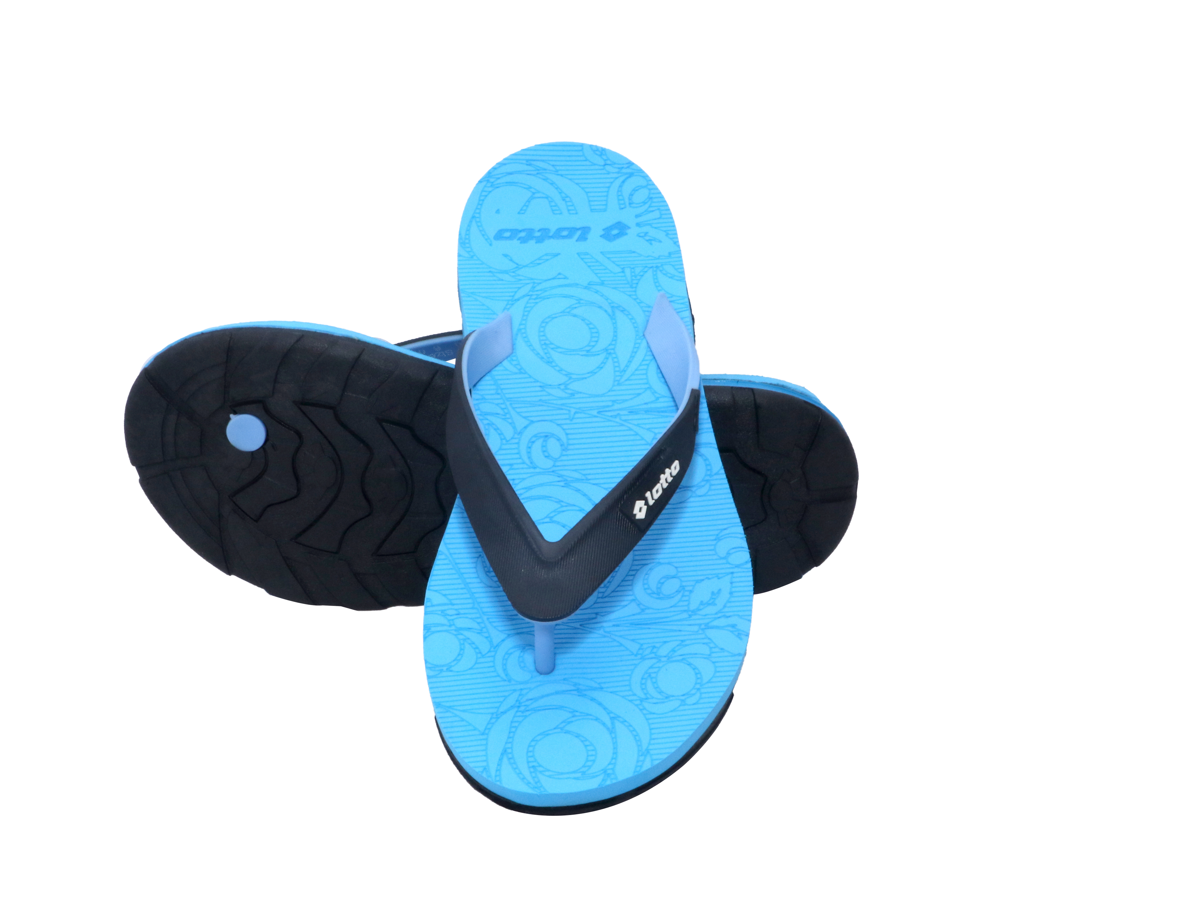 Lotto | Lotto Women's Ollie Sky Blue Black Slippers