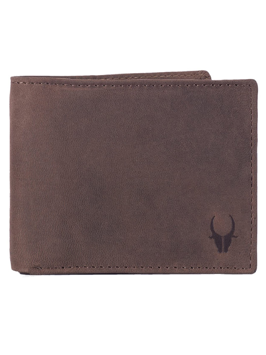 WildHorn | WildHorn RFID Protected Genuine High Quality Leather Brown Wallet for Men