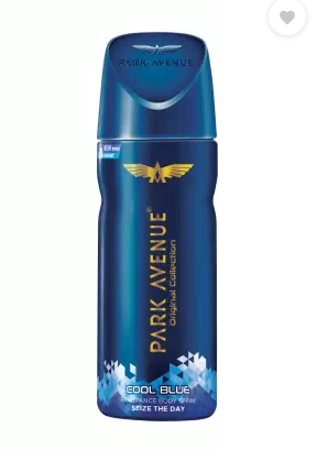 Park Avenue deodorant and perfume | PARK AVENUE Original Collection Cool Blue Fragrance Seize the Day Body Spray - For Men