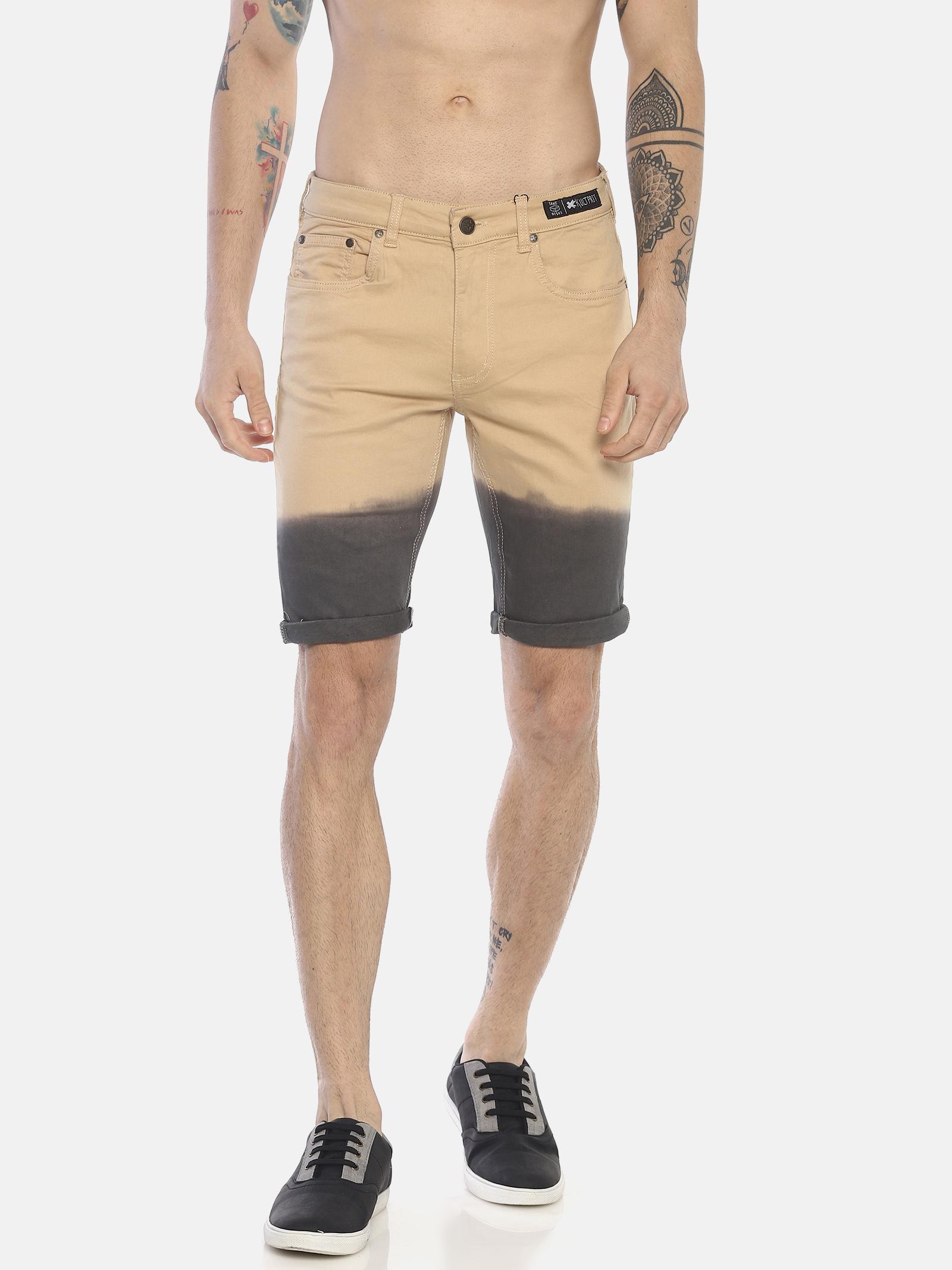 KULTPRIT | Omber Wash Denim Shorts