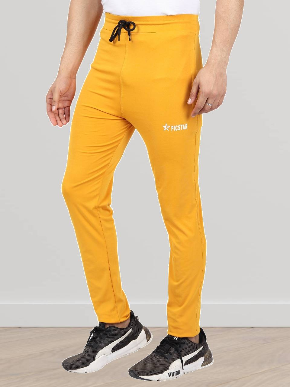 Picstar   Picstar Fox Yellow Men's Trackpant
