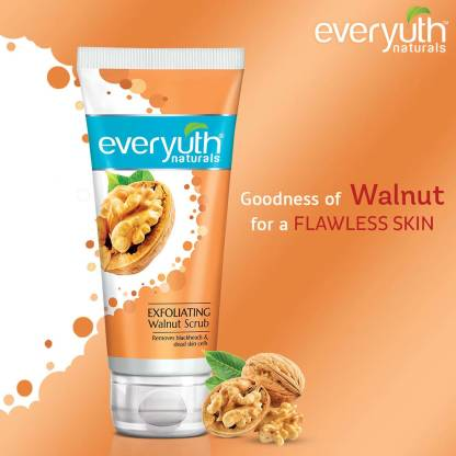 Everyuth Naturals   Everyuth Naturals Exfoliating Walnut Scrub with nano Multi Vit A Scrub