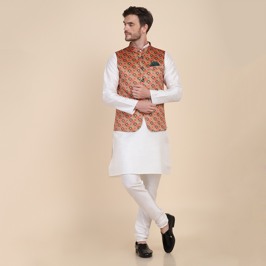 TAHVO | Kurta pyjama with Nehru Jacket