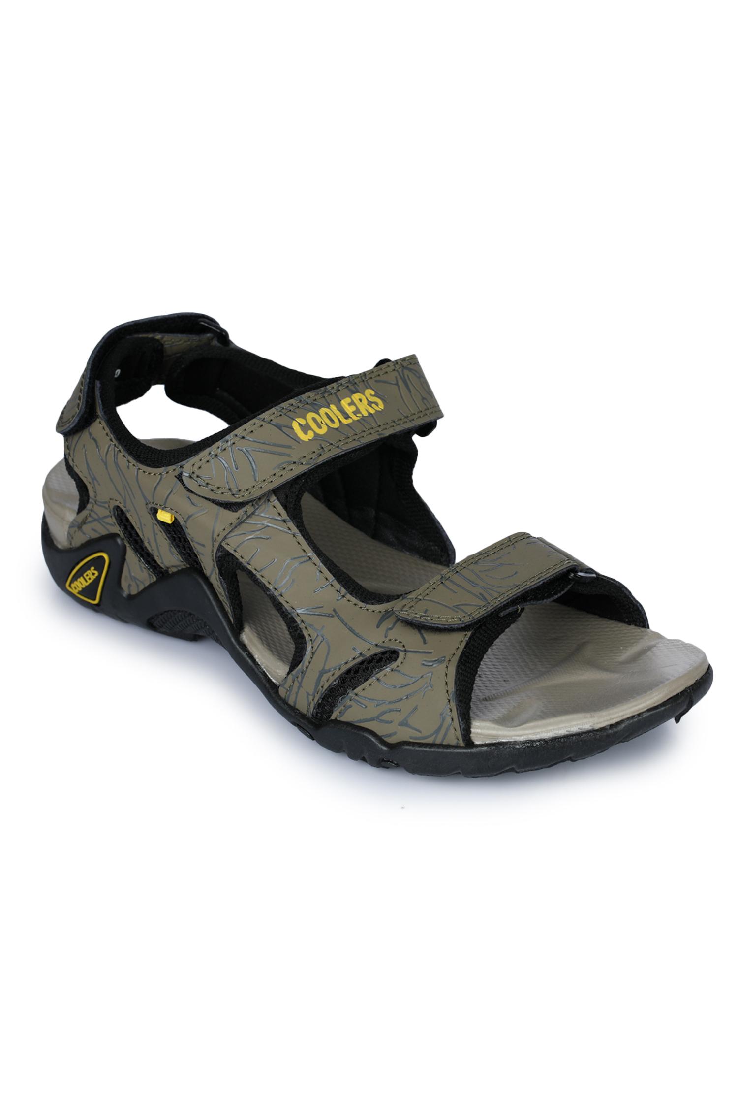 Liberty | Liberty Coolers Green Sports Sandals 8141-05_Green For - Men