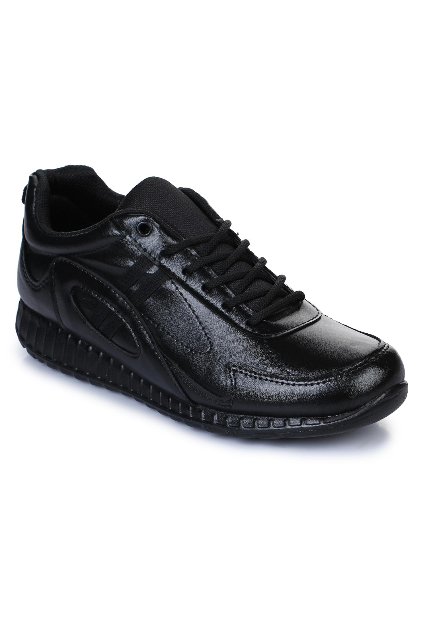 Liberty | Liberty Force 10 Black School Shoes 9906-02T_Black For - Men