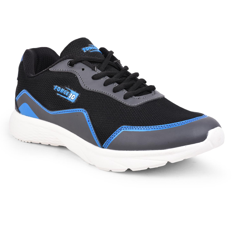 Liberty | Liberty Force 10 Black Sports Running Shoes ALFIE_Black For - Men