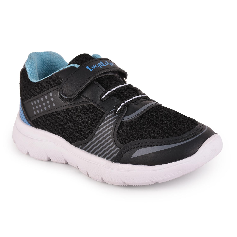 Liberty | Liberty Lucy & Luke Black Sports Running Shoes AMAZ-1 For - Kids