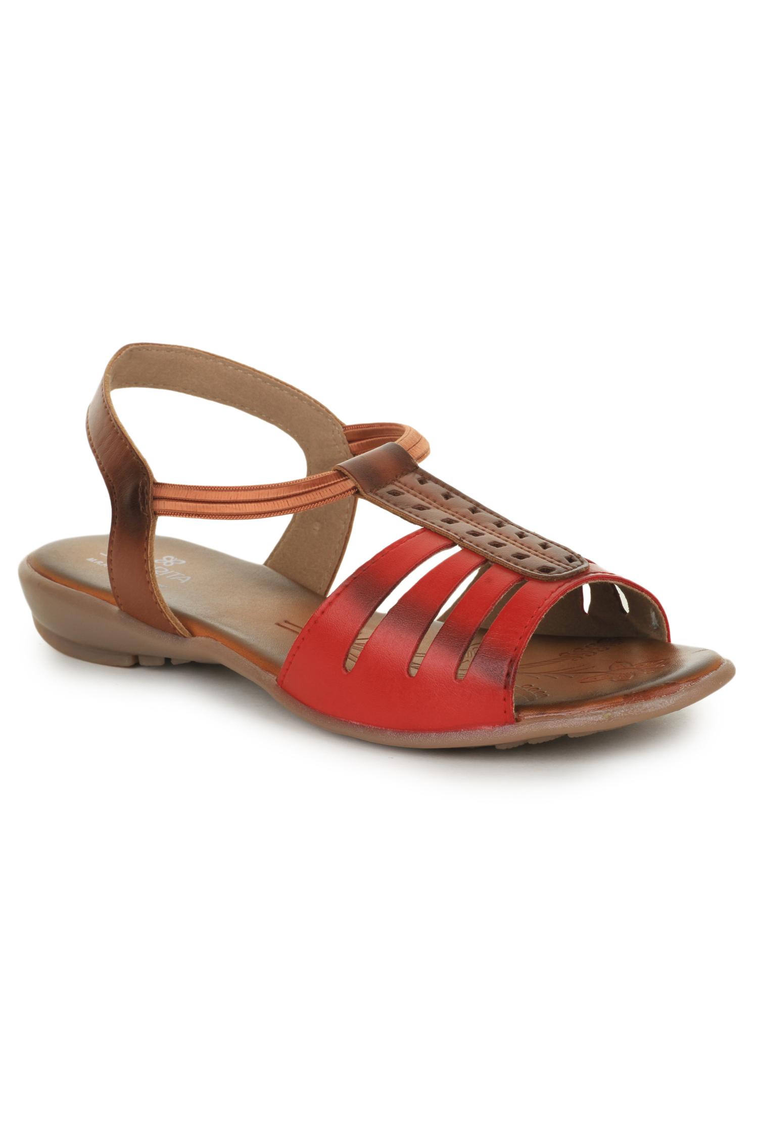 Liberty | Liberty Senorita Red Casual Sandals CH-06_Red For - Women