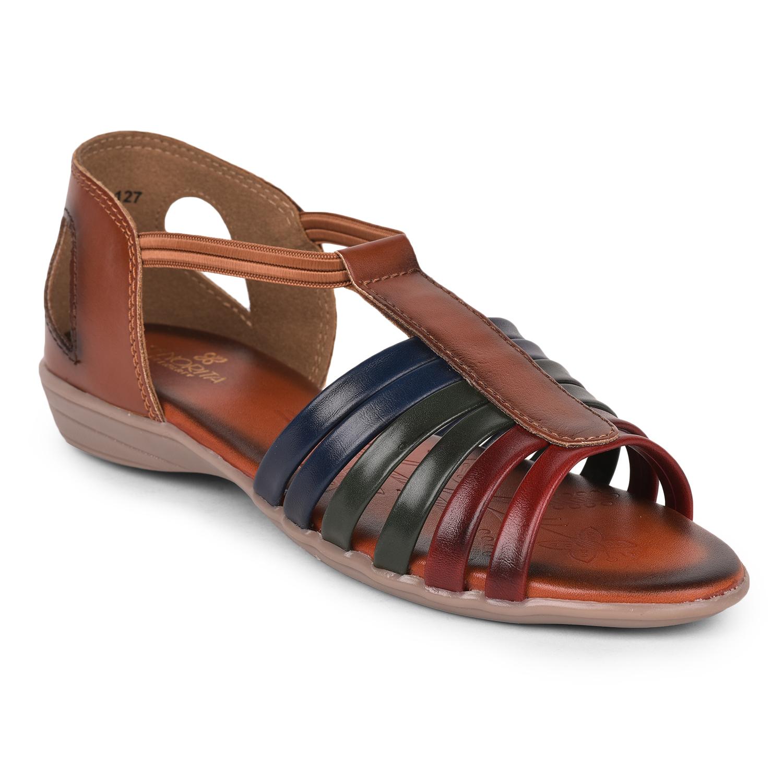 Liberty | Liberty Senorita Brown Sandals CH-127 For - Ladies