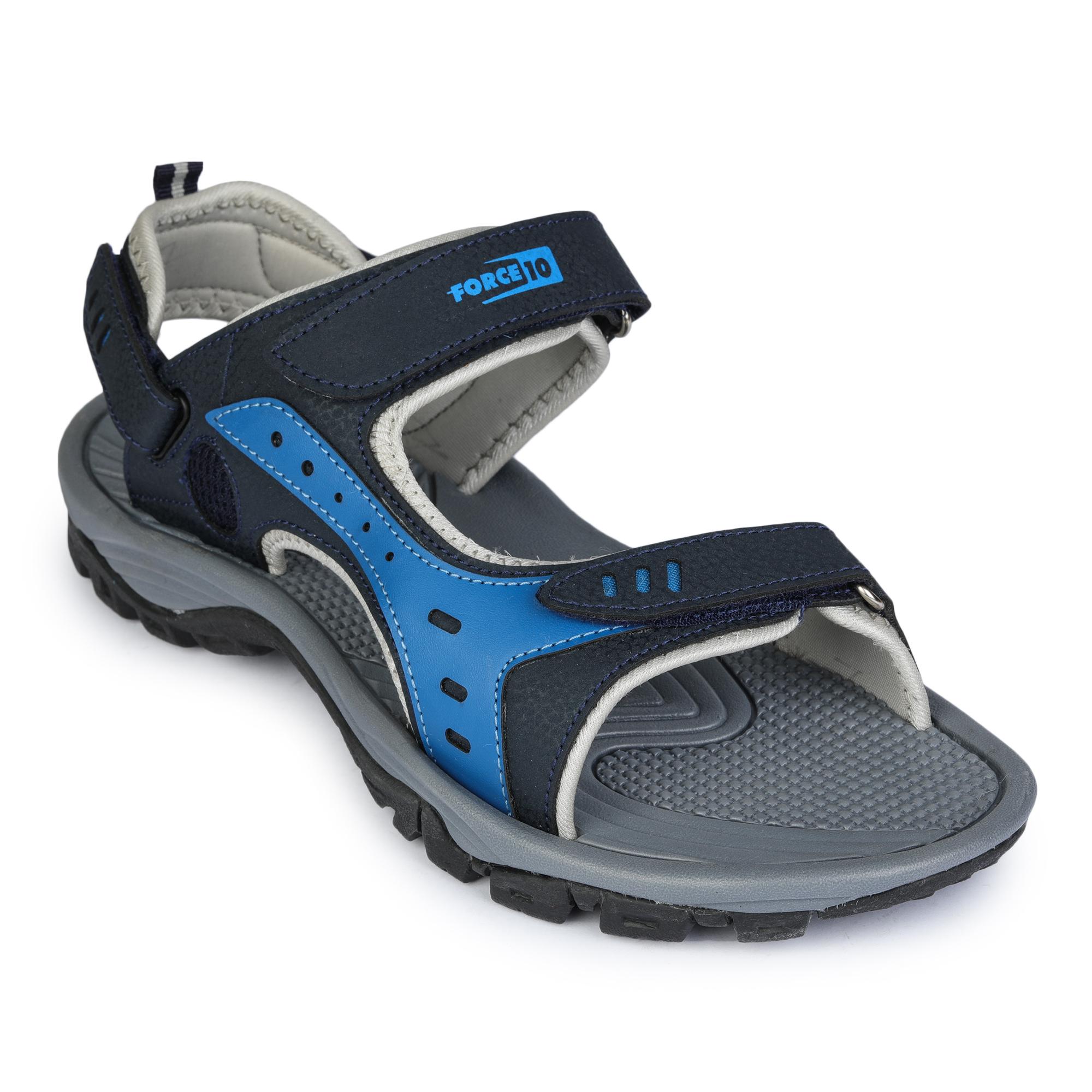 Liberty | Liberty Force 10 Blue Sports Sandals DEMON-1E_Blue For - Men