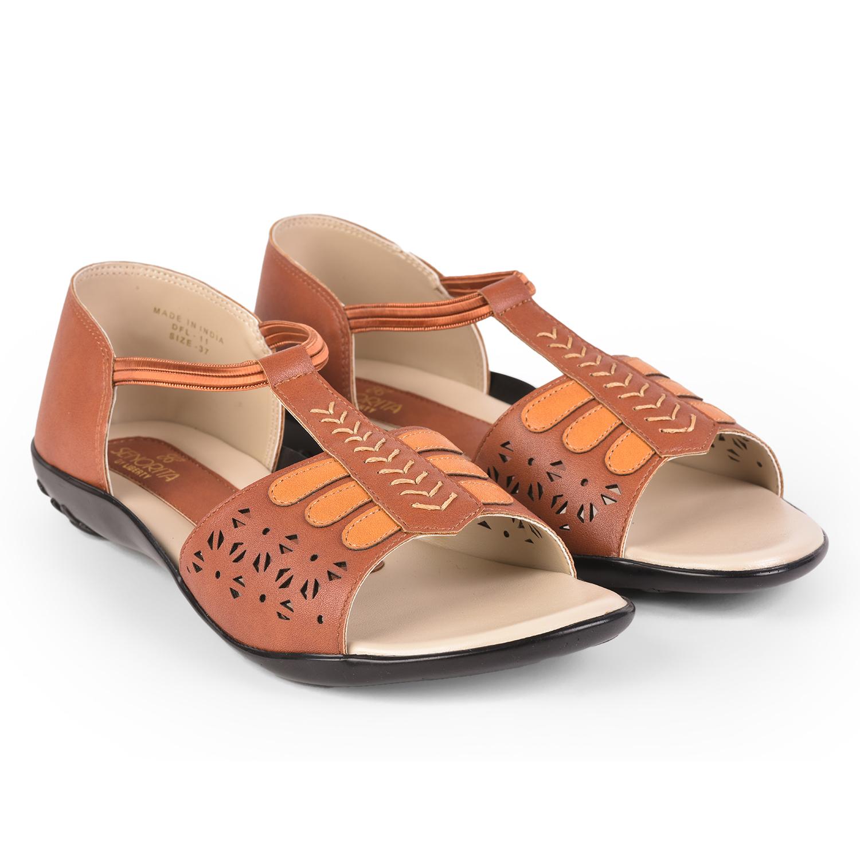 Liberty | Liberty SENORITA Sandals DFL-11_TAN For - Women