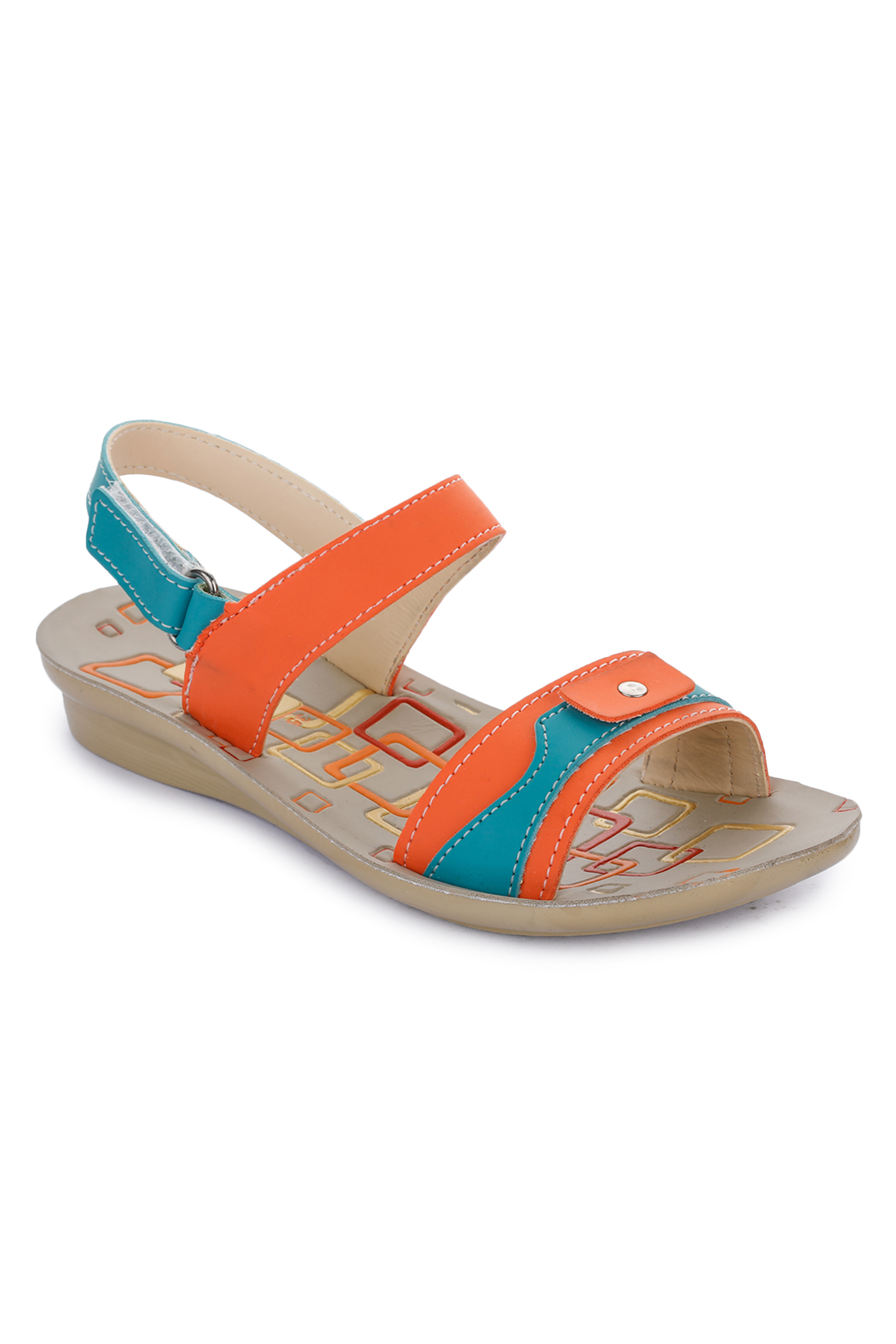 Liberty | Liberty Lucy & Luke Orange Casual Sandals DOLLY-1_Orange For - Boys