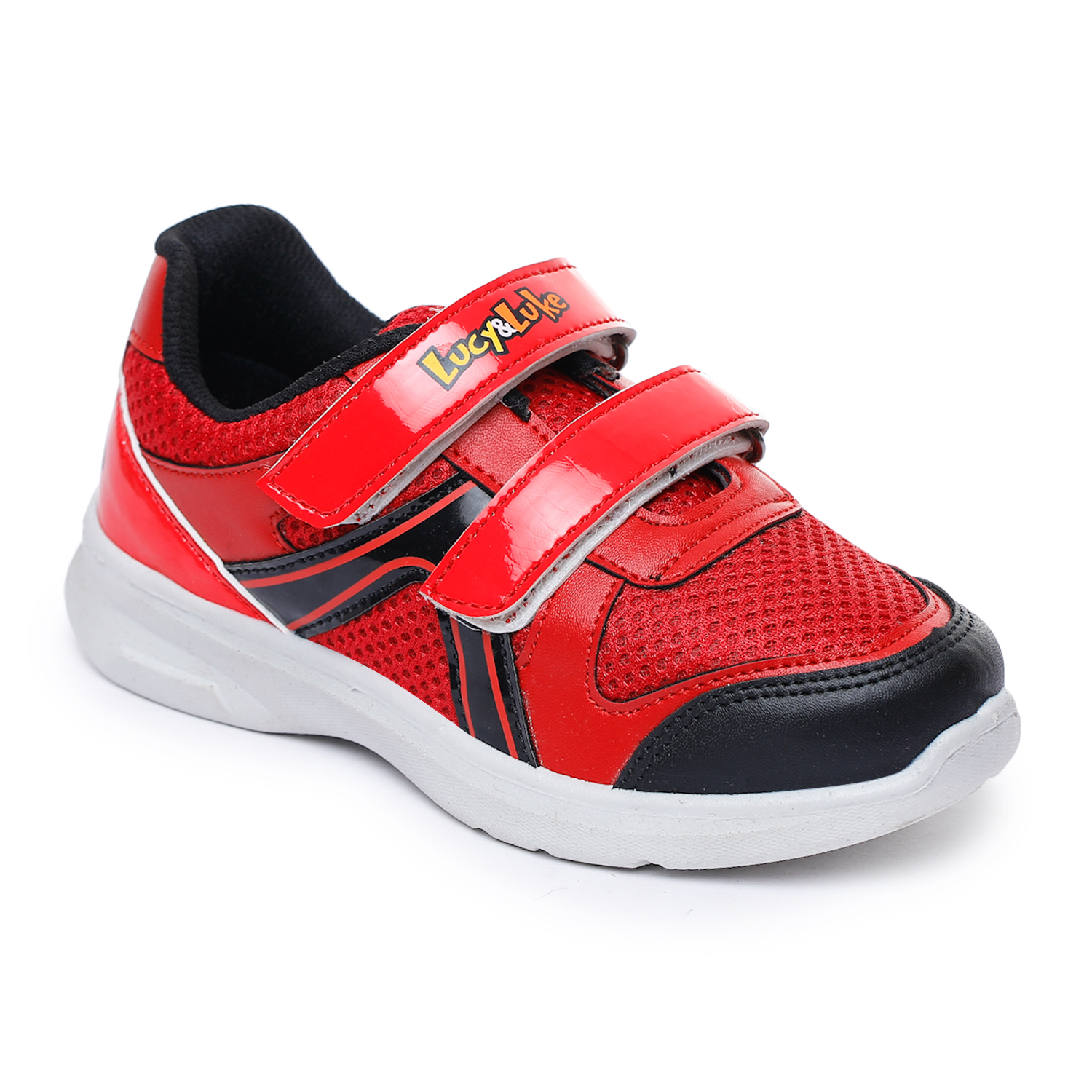 Liberty | Liberty Lucy & Luke Red Casual Slip-ons DOOBY-2E_Red For - Boys