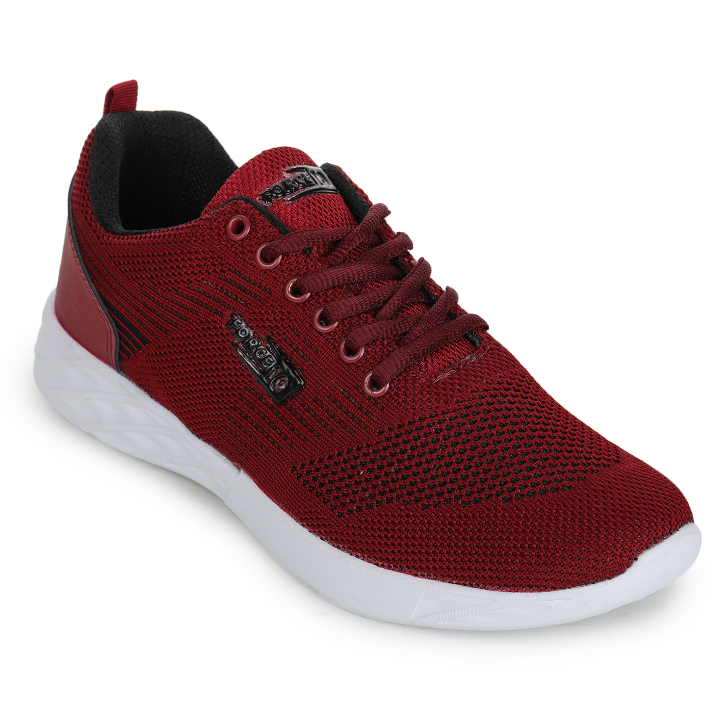 Liberty | Liberty Force 10 Red Sports Running Shoes EADY_Red For - Men