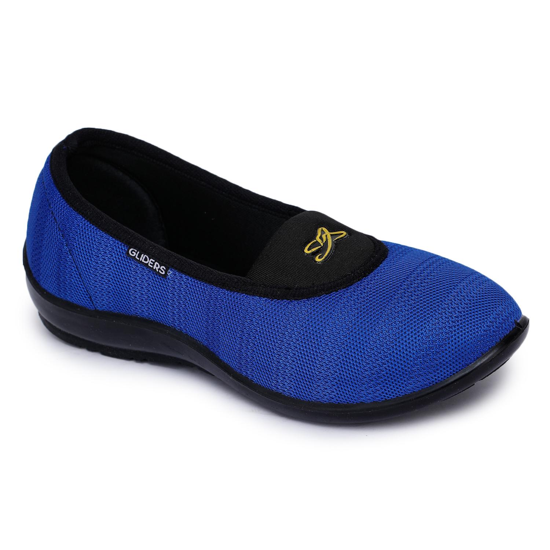 Liberty | Liberty Gliders Blue Ballerinas ELENA-71_Blue For - Women