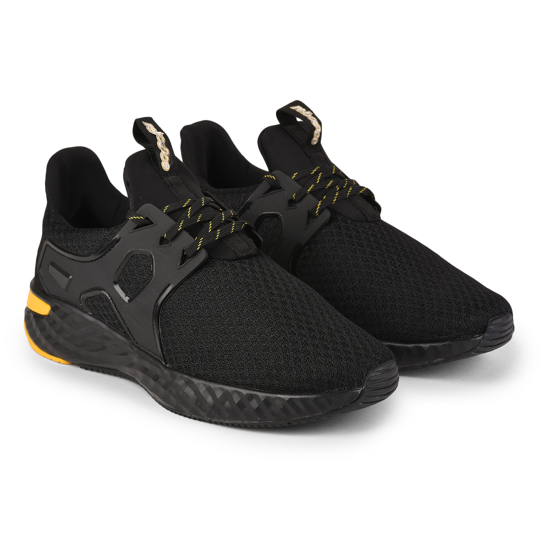 Liberty | Liberty REBOUNCE Running Shoes ENTHEM-1E_Black For - Men