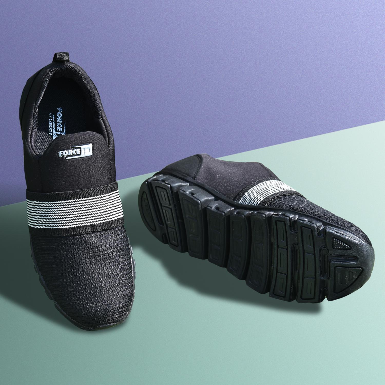 Liberty | Black Sports Shoes