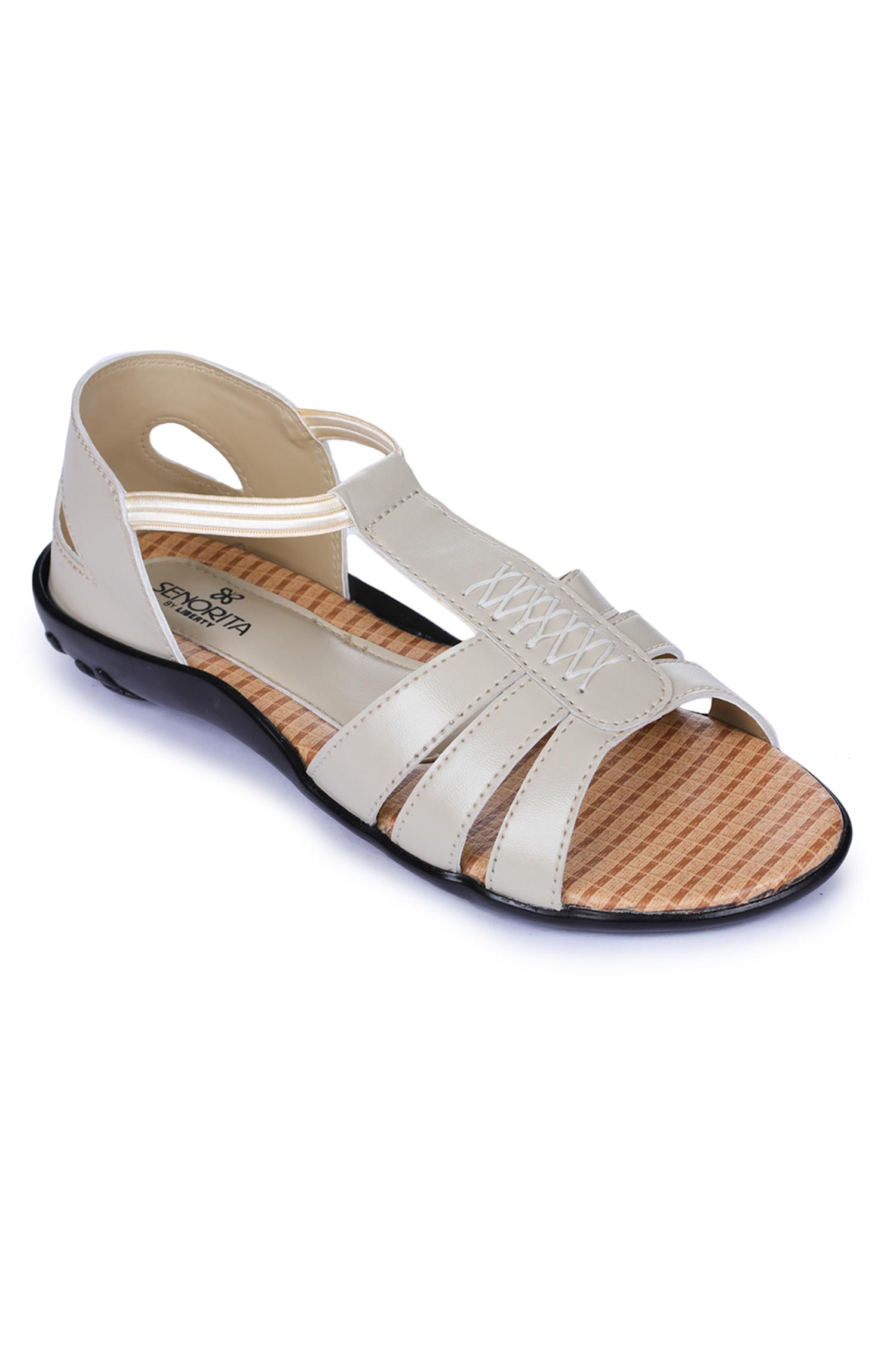Liberty | Liberty Senorita Beige Fashion Sandals FT-713_Beige For - Women