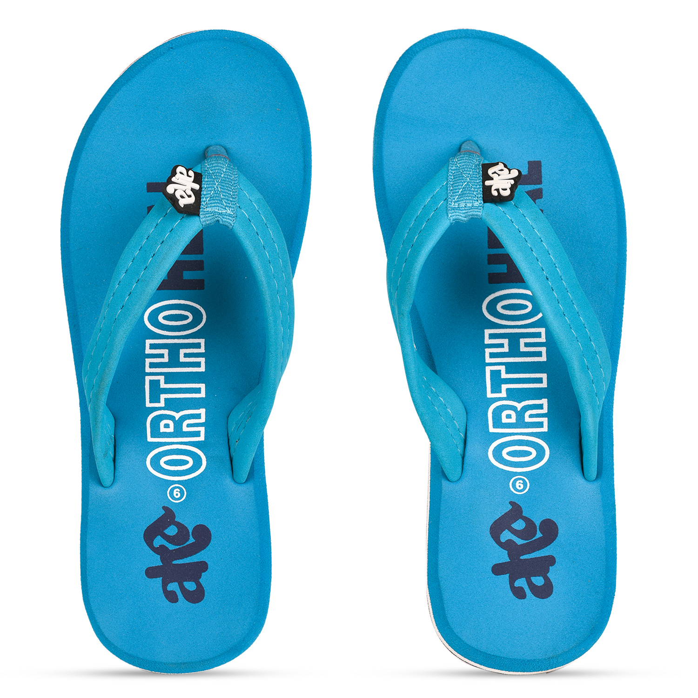 Liberty | Liberty A-HA Blue Flip Flops GFH-7_Blue_2 For - Girls