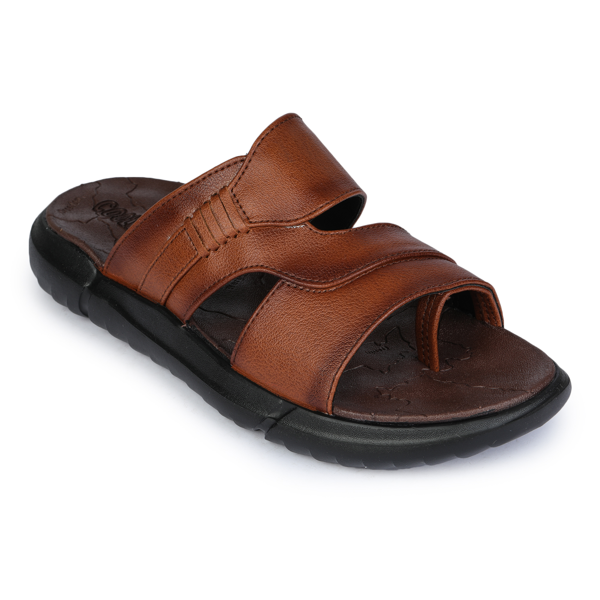 Liberty | Liberty Coolers Brown Casual Slippers GLOBY-1ME_Brown For - Men