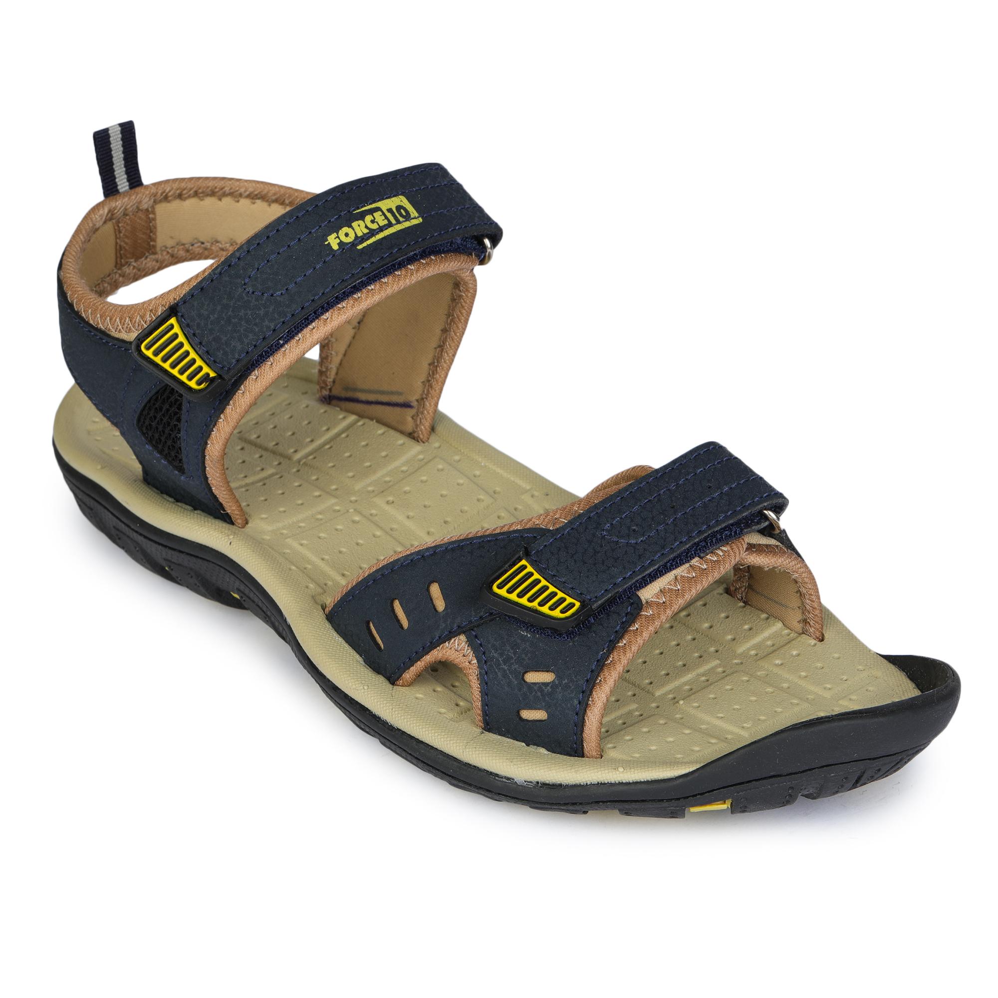 Liberty | Liberty Force 10 Blue Sports Sandals GRAZER-1E_Blue For - Men