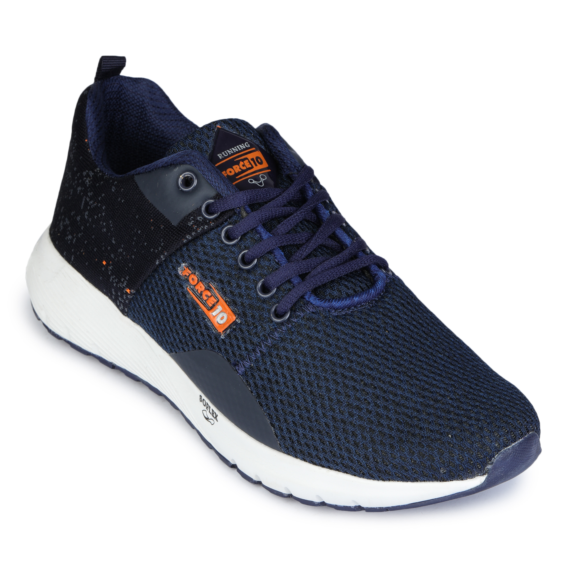 Liberty   Liberty Force 10 Blue Sports Running Shoes HEXA-1ME_Blue For - Men