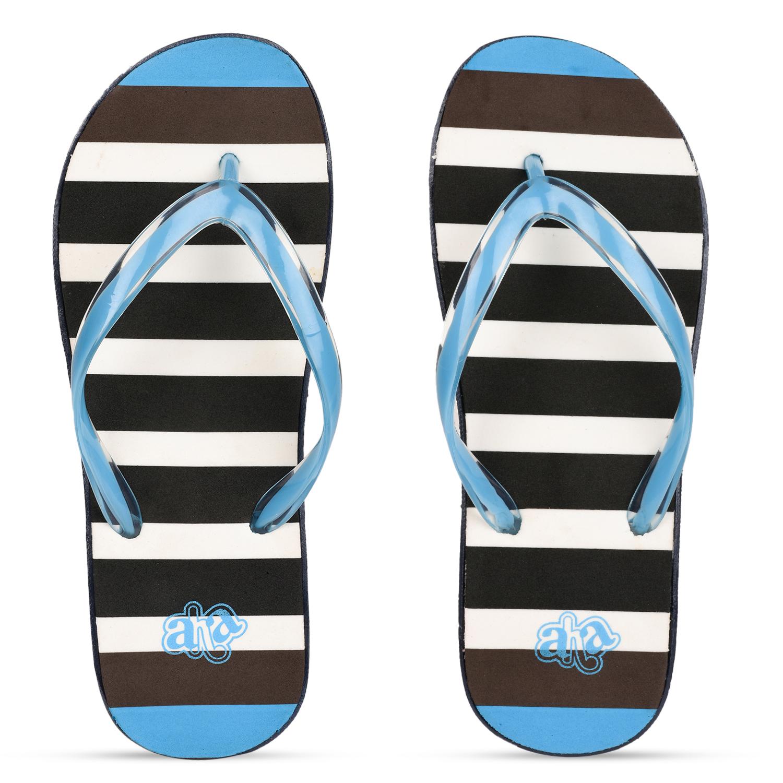Liberty   Liberty A-HA Blue Flip Flops HIMANI-R3_Bl For - Women