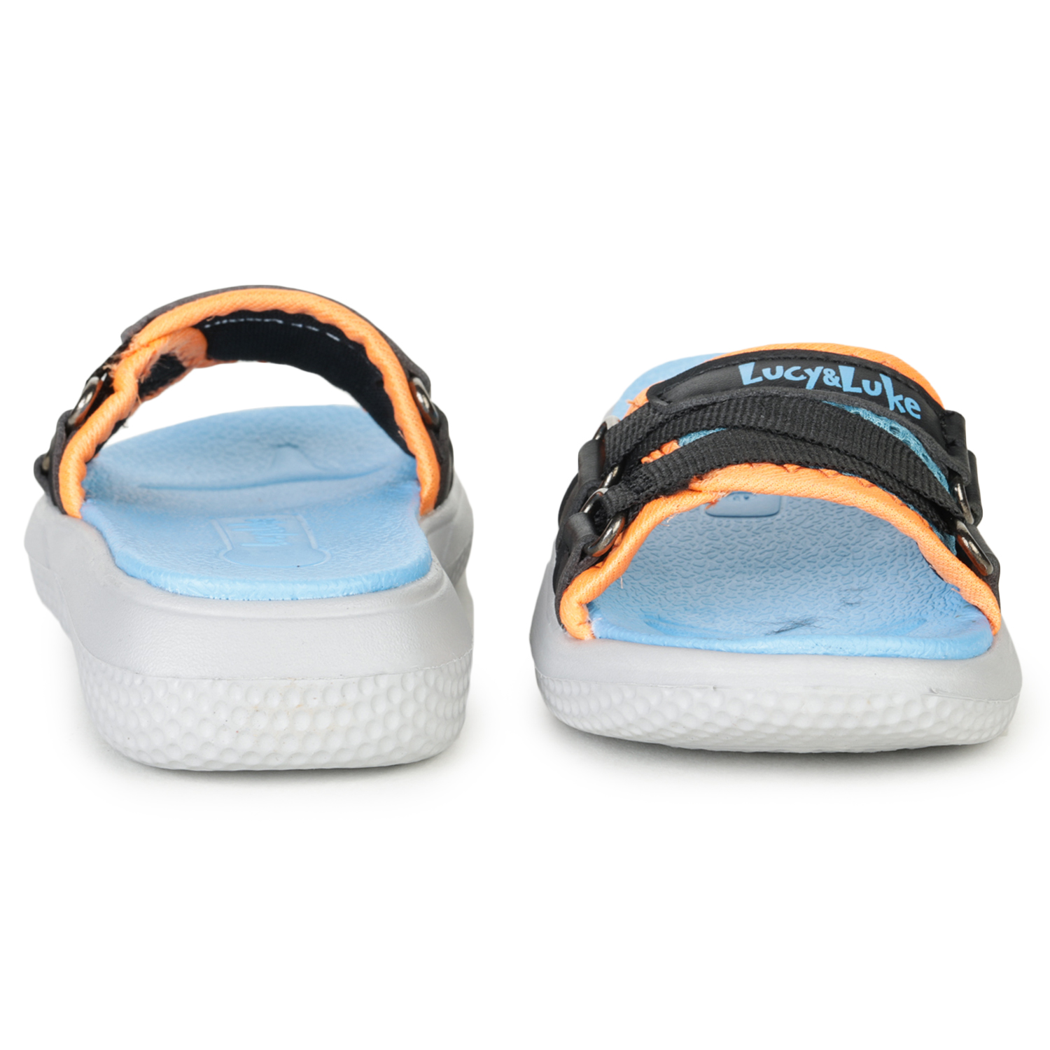 Liberty | Liberty Lucy & Luke Slippers HIPPO-12S_S.Blue For - Kids