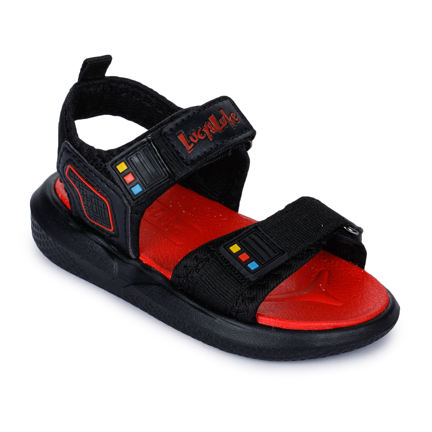 Liberty | Liberty Lucy & Luke Black Casual Sandals HIPPO-2D_Black For - Boys