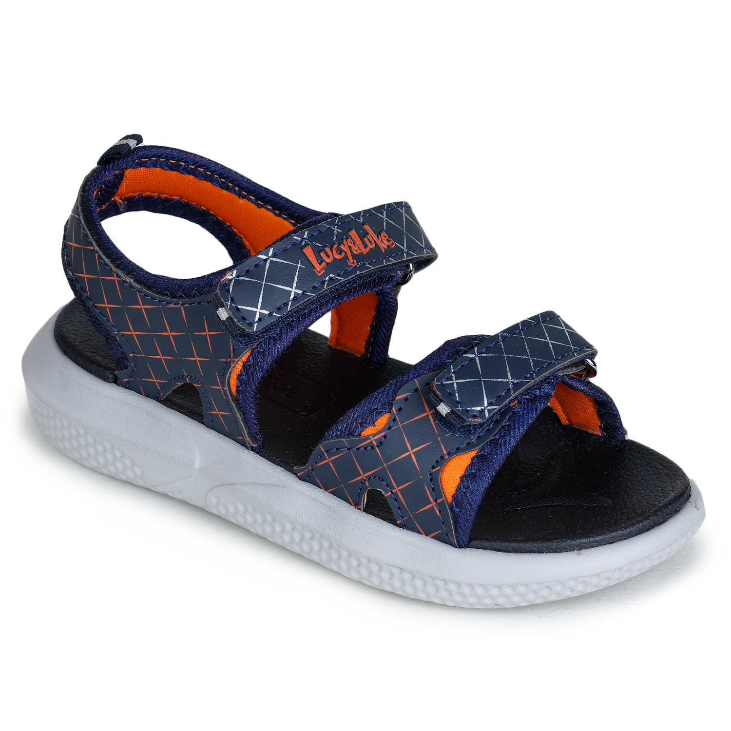 Liberty | Liberty Lucy & Luke Blue Casual Sandals HIPPO-4_Blue For - Boys