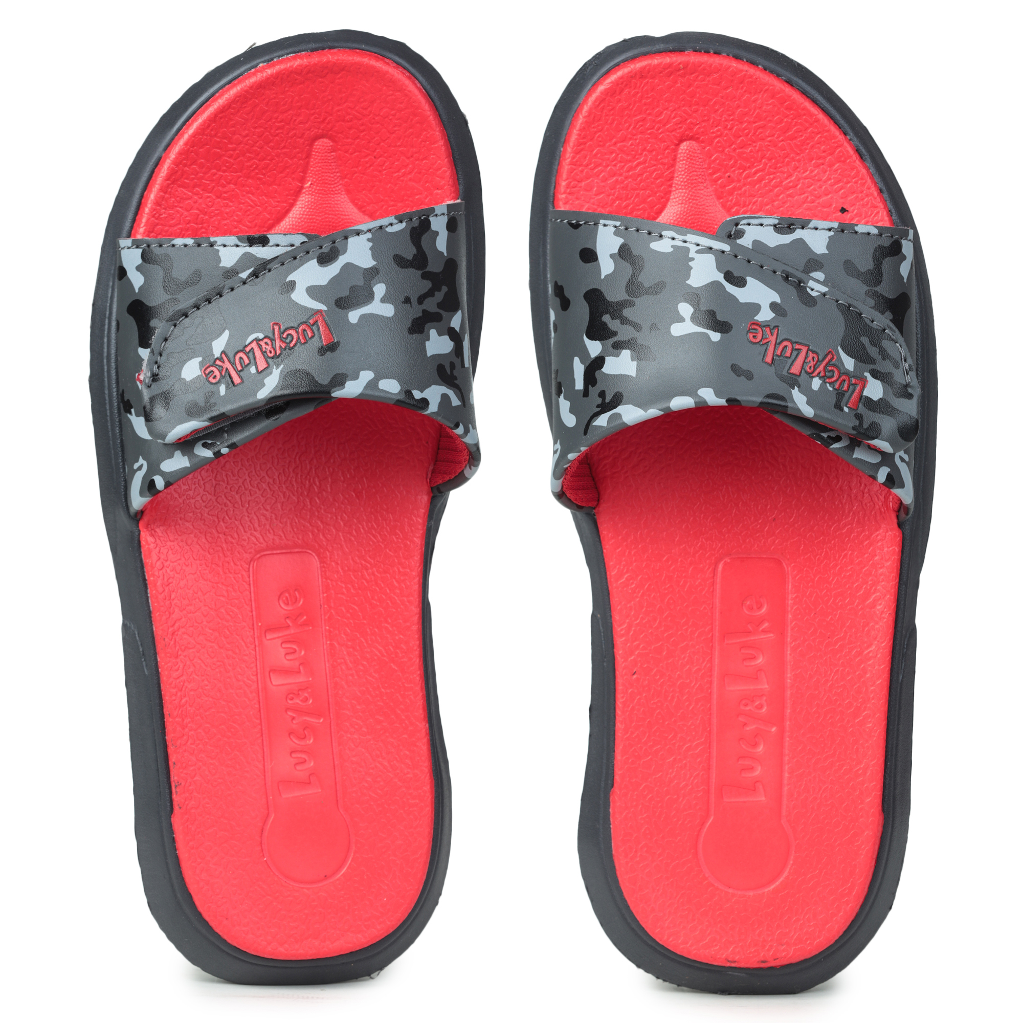 Liberty | Liberty LUCY & LUKE Slippers HIPPO-8TD_RED For - Boys