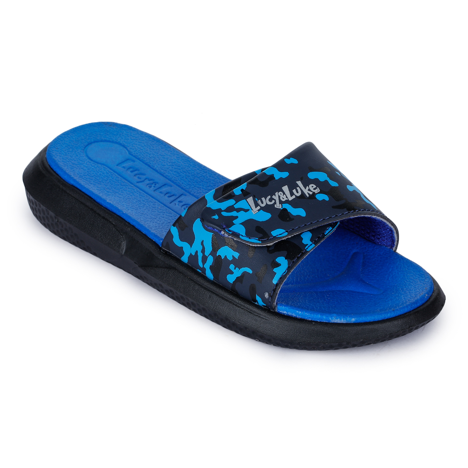 Liberty | Liberty LUCY & LUKE Slippers HIPPO-8T_BLUE For - Boys