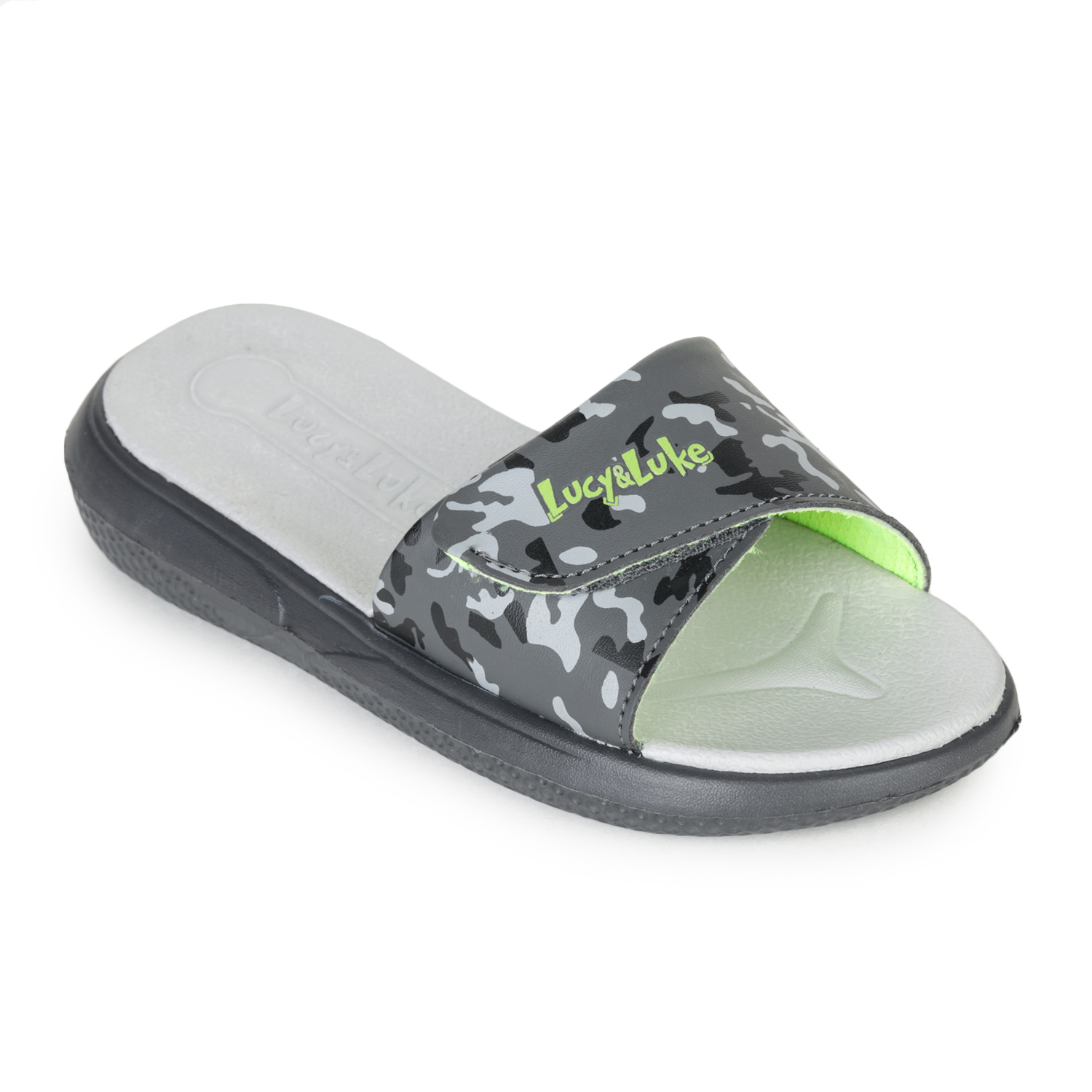 Liberty | Liberty LUCY & LUKE Slippers HIPPO-8T_GREY For - Boys