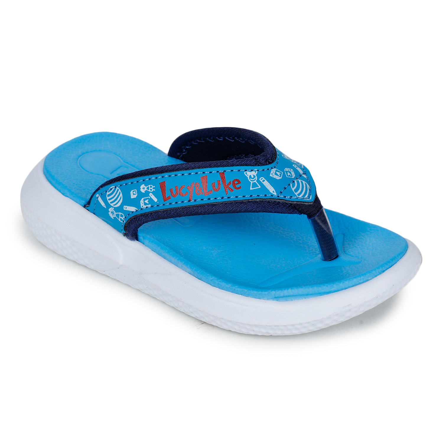 Liberty | Liberty LUCY & LUKE Slippers HIPPO-9T_S.BLUE For - Boys